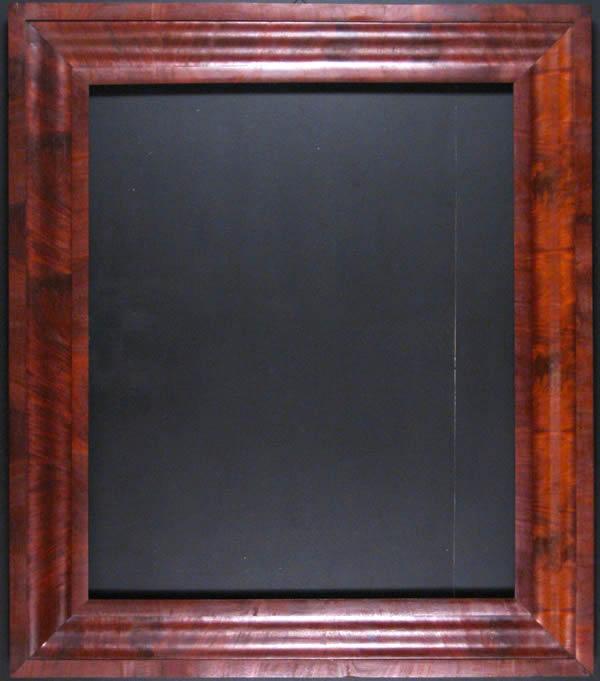 American Empire Mahogany Portrait Frame Ammi Ribar Antiques