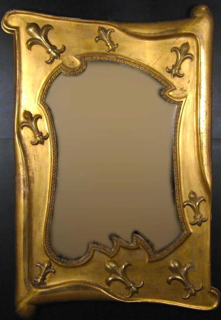 French Art Nouveau Mirror | Ammi Ribar :: Antiques & Fine Period Frames