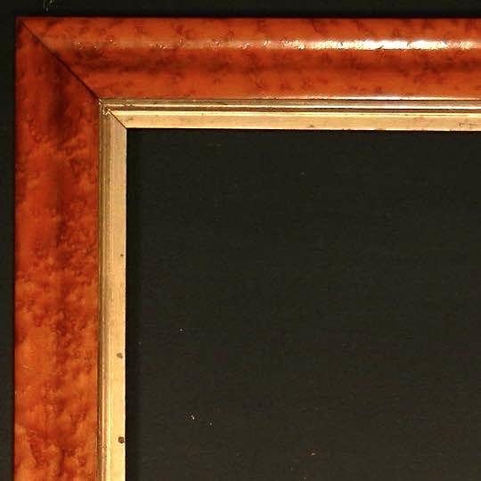 English Birdseye Maple Frame | Ammi Ribar :: Antiques & Fine Period ...
