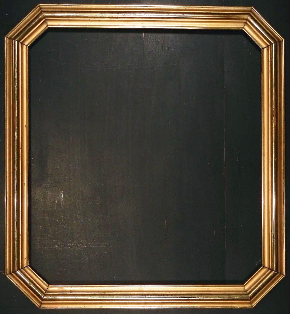 American Silver-gilt Octagon Frame   Ammi Ribar :: Antiques & Fine ...